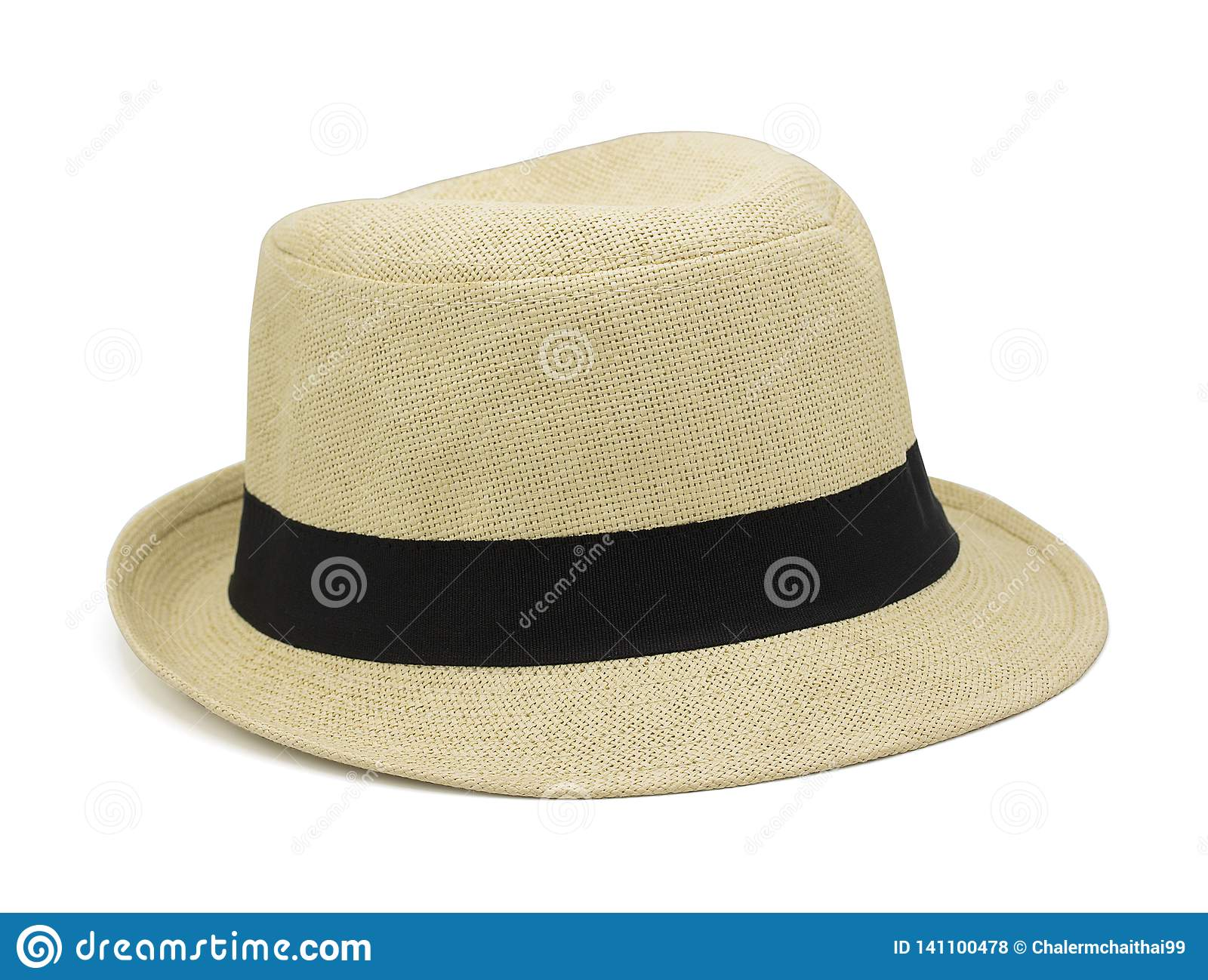 69987cd6 Straw Hat Isolated On White Background With Clipping Path Stock ...