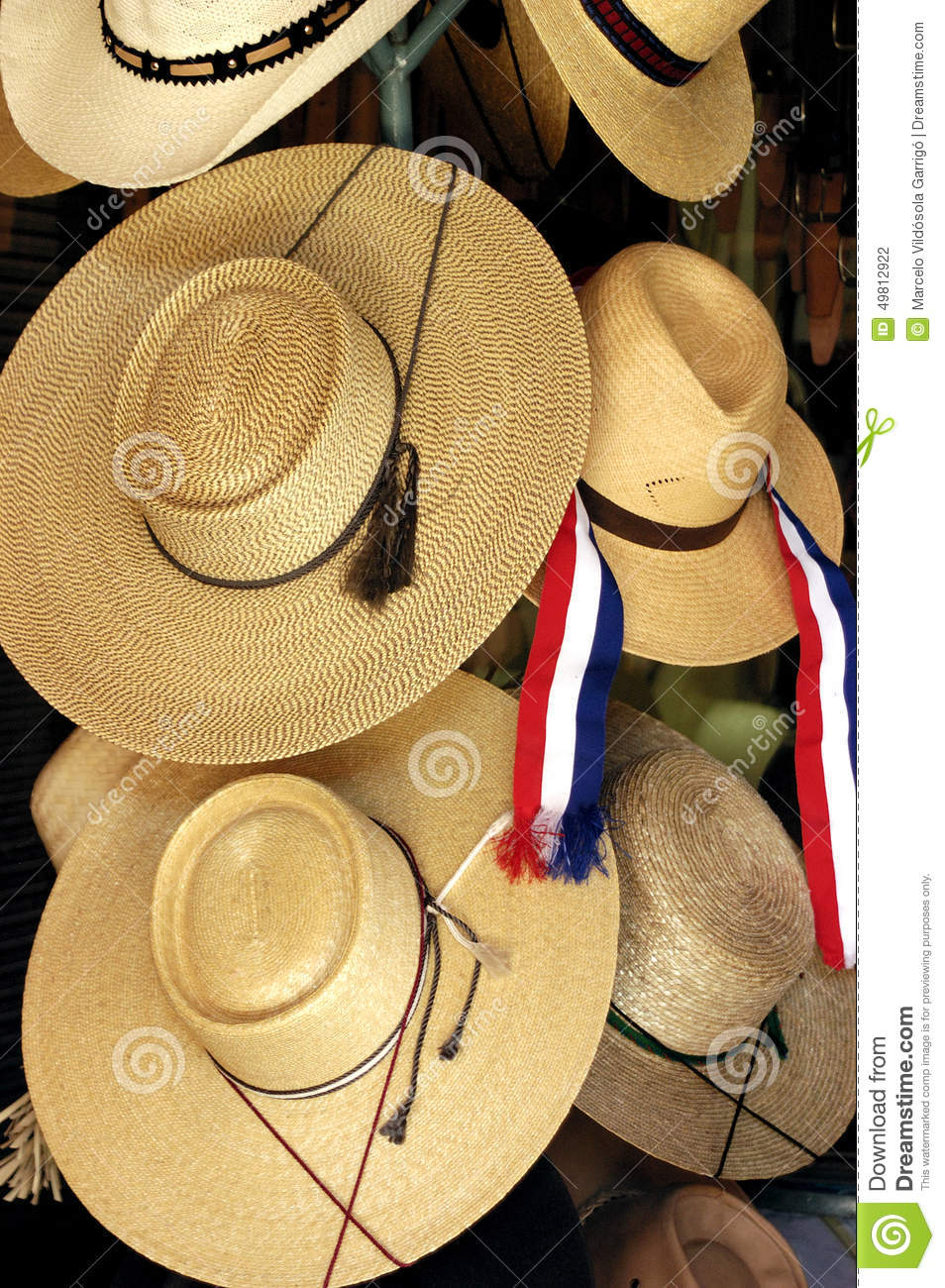 straw hat stock photo  image of tissue  handicrafts  traditional