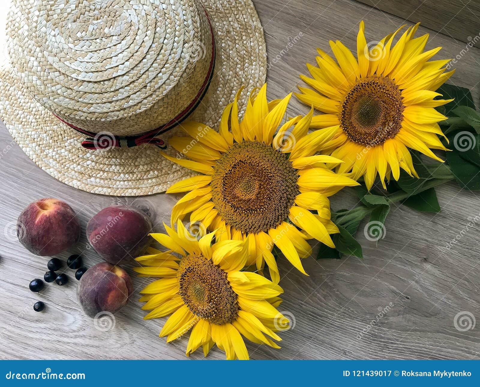 Straw Hat solrosor på tabellen