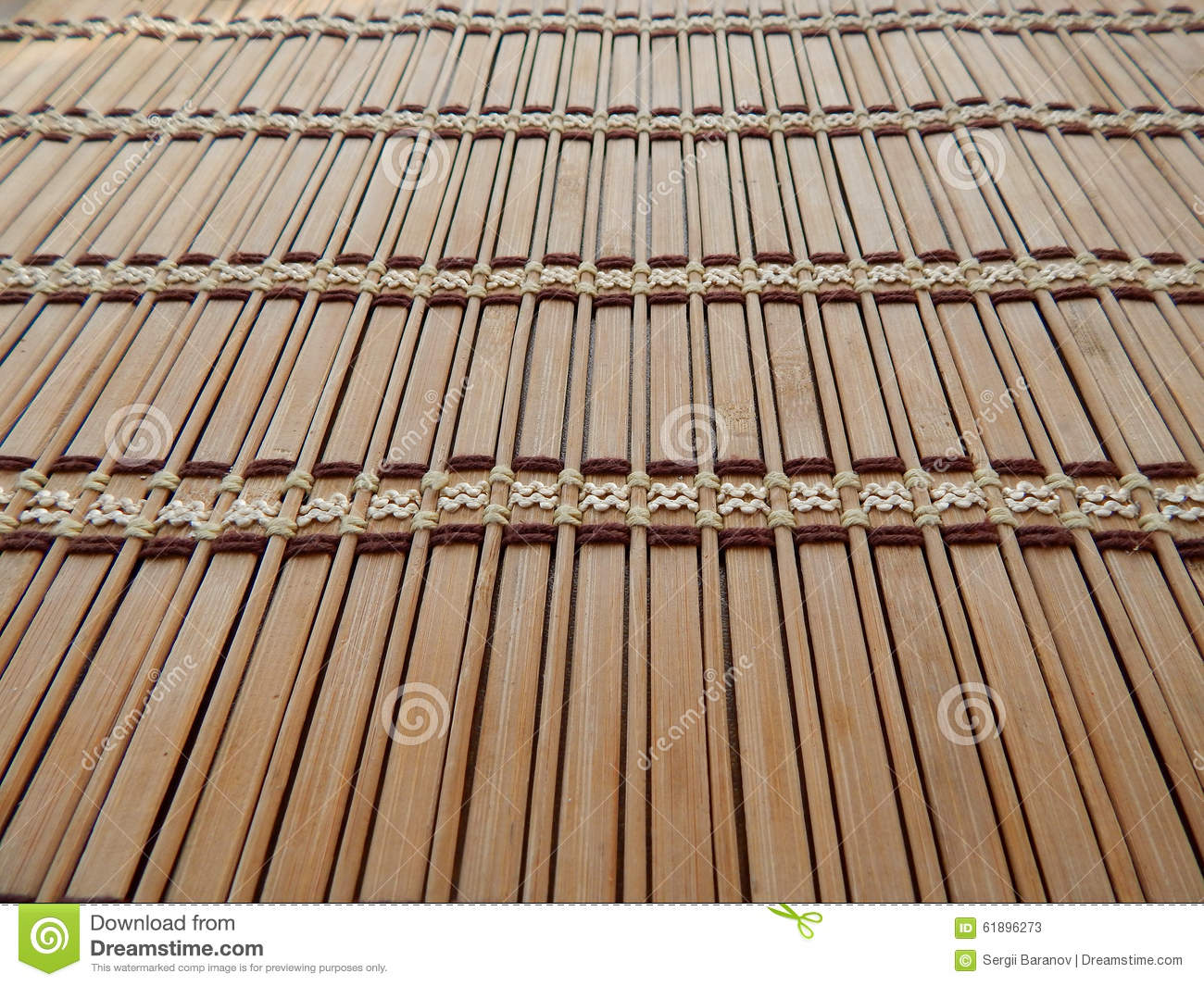 Straw jalousie texture background