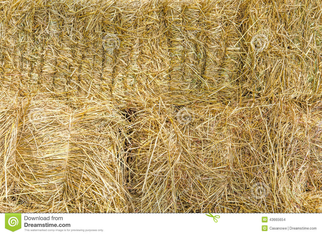 Straw texture for background