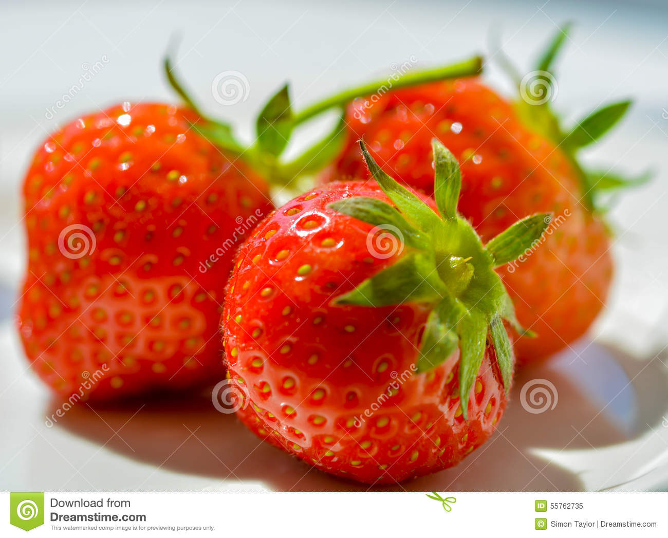 Strawberries Stock Image Image Of Micro Iconic Fresh 55762735