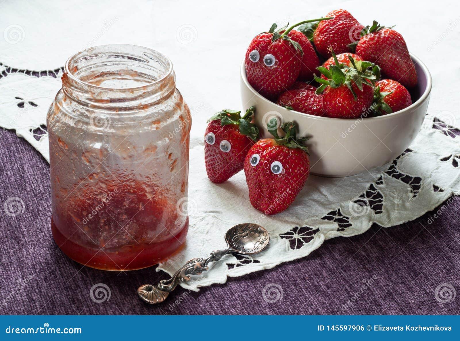 Alarming premonition of strawberries
