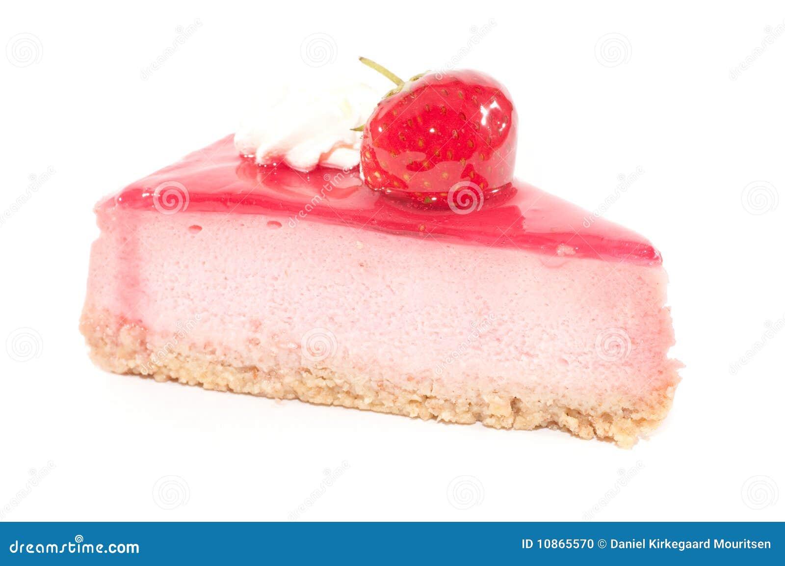 Strawberry Cake Stock Photo Image 10865570