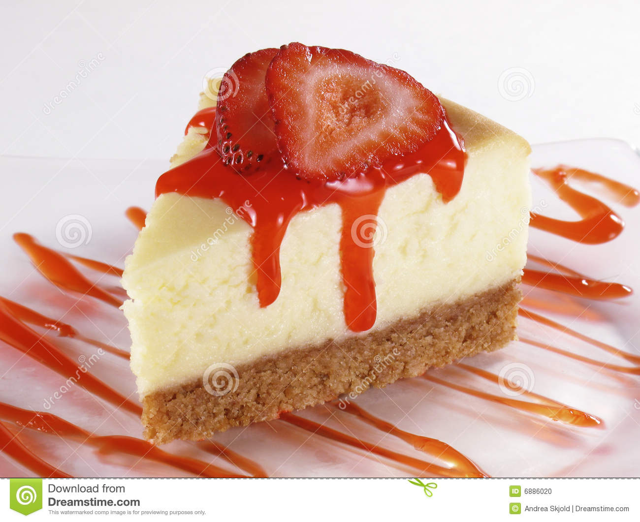 Strawberry Cheesecake Stock Photo - Image: 6886020