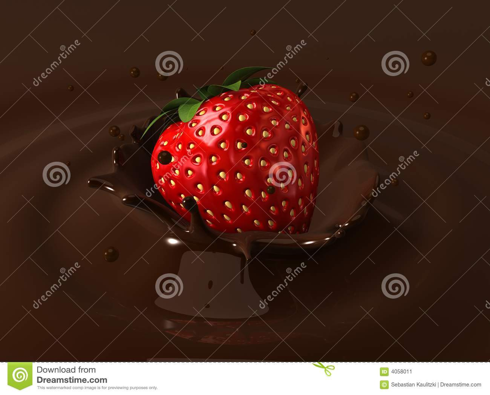 Strawberry choco