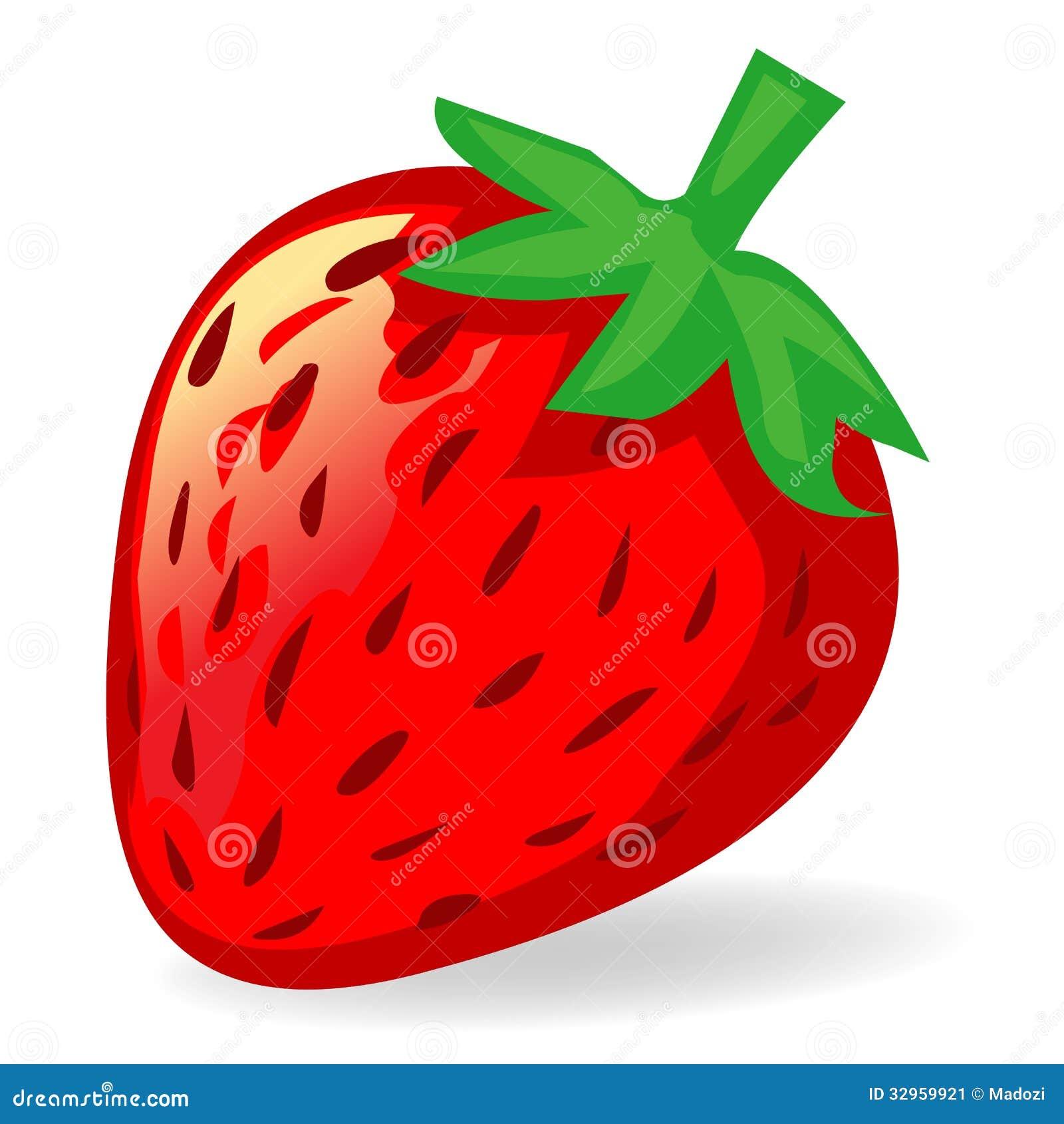 Strawberry Illustration Stock Image - Image: 32959921