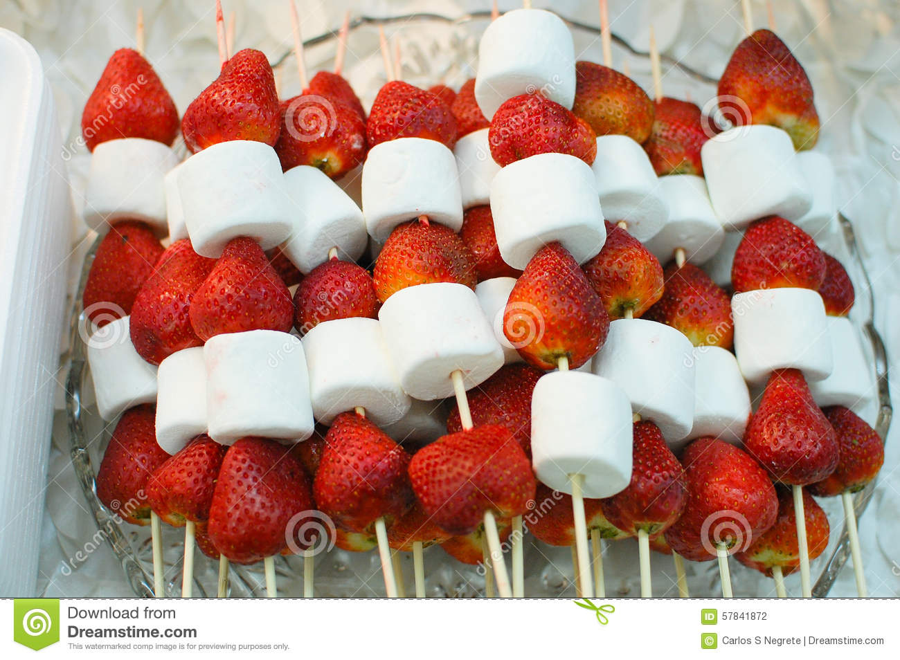 Chocolate Covered Strawberries And Marshmallows
