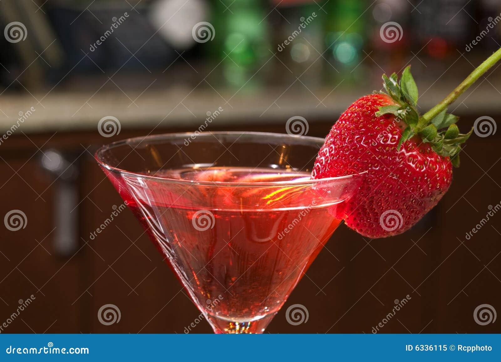 Strawberry Martini Royalty Free Stock Photo Image 6336115