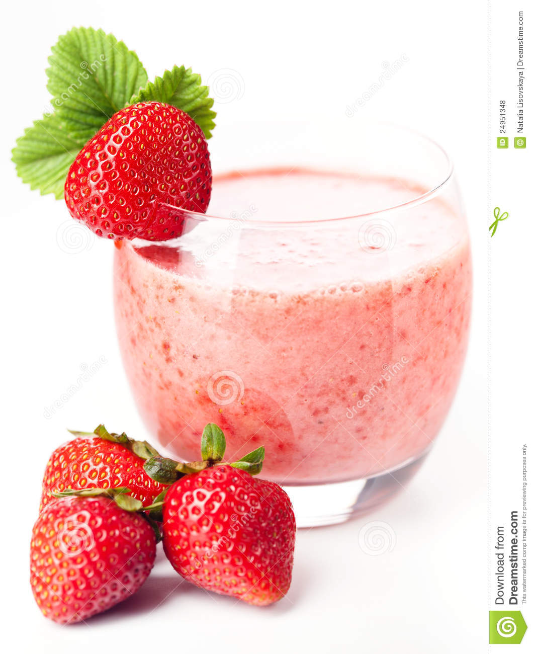 Strawberry Milk Cocktail Royalty Free Stock Photos - Image ...