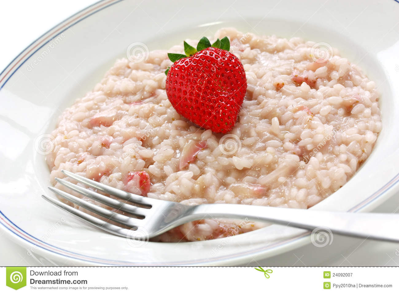 Strawberry Risotto Royalty Free Stock Photography - Image: 24092007