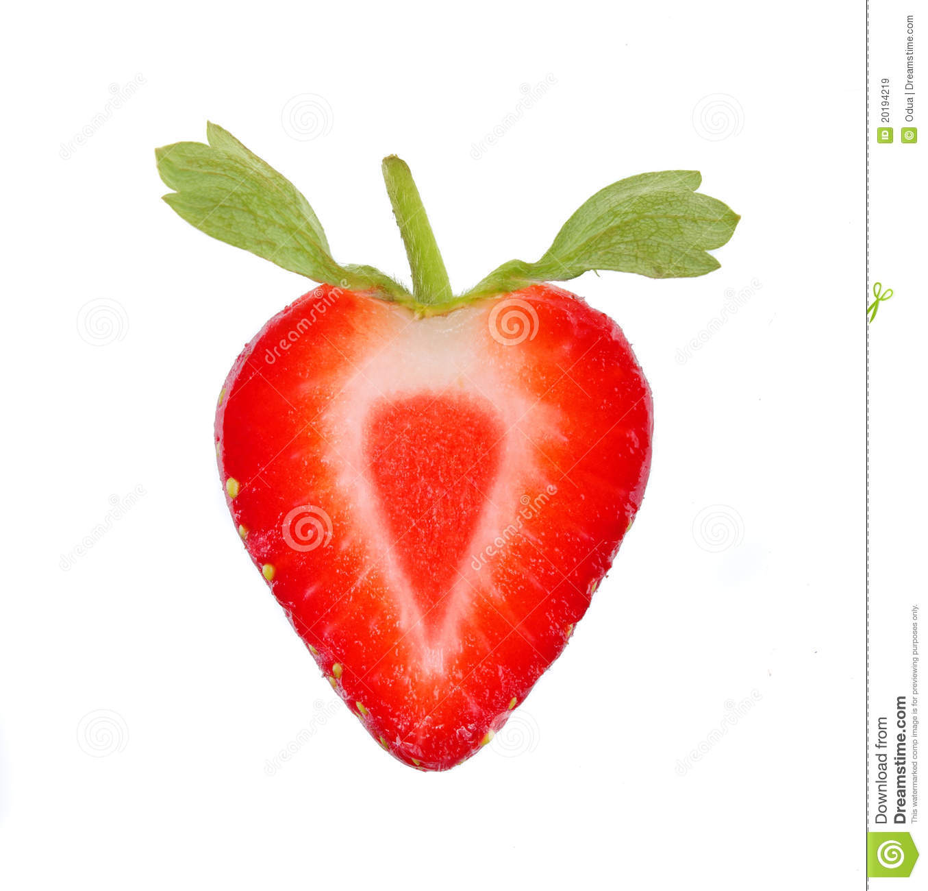 Strawberry Slice Royalty Free Stock Images - Image: 20194219
