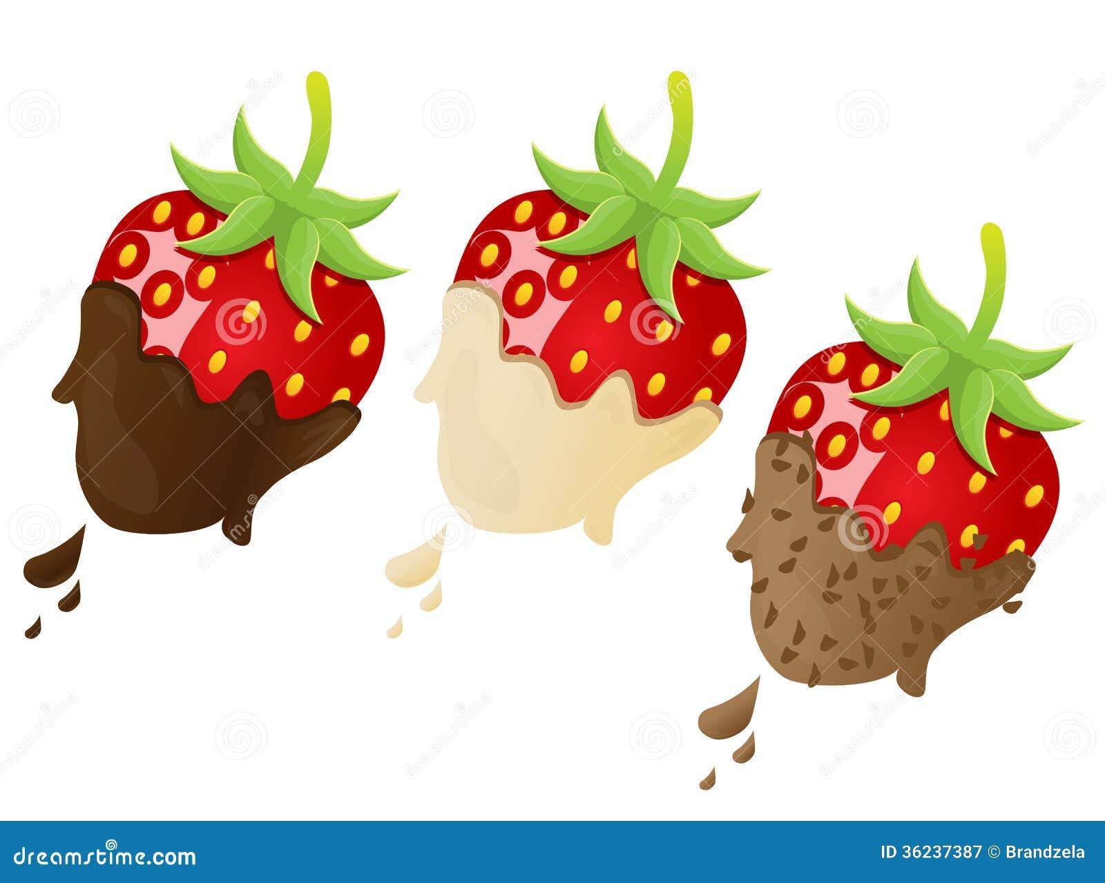 Strawberry Vector Illustration Royalty Free Stock ...