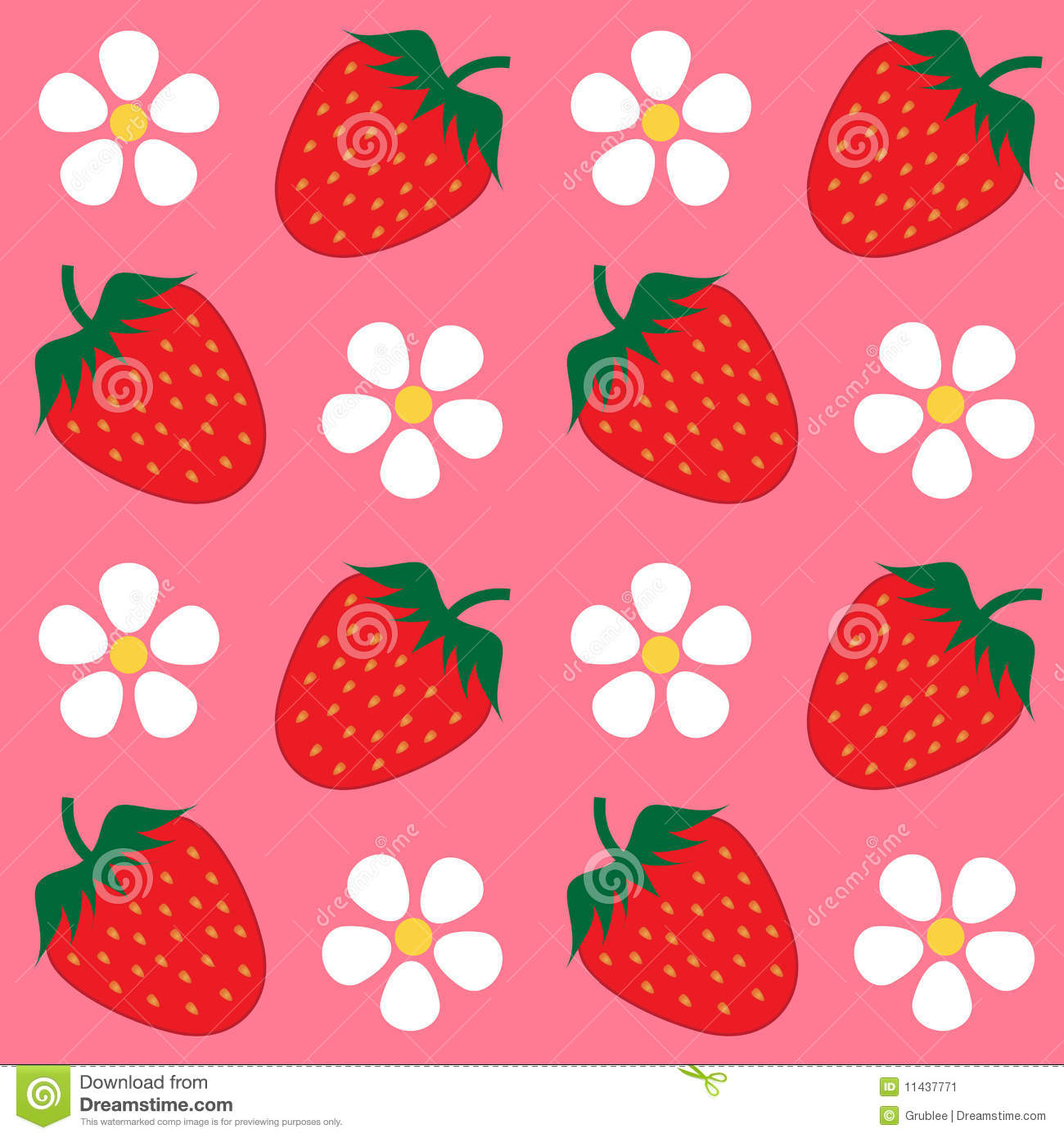 Strawberry Wallpaper Background Stock Image Image 11437771