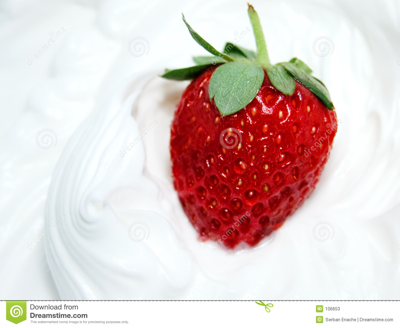 Strawberry and whip 3
