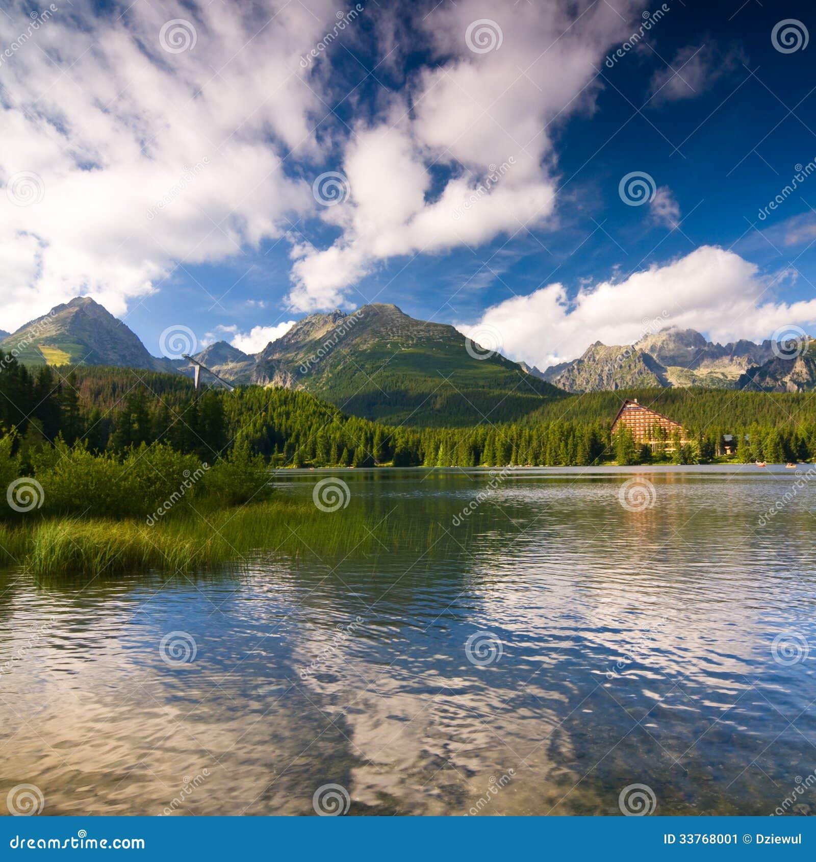 strbske Pleso Slovakia  city photos : Strbske Pleso, Lake In Slovakia Stock Image Image: 33768001