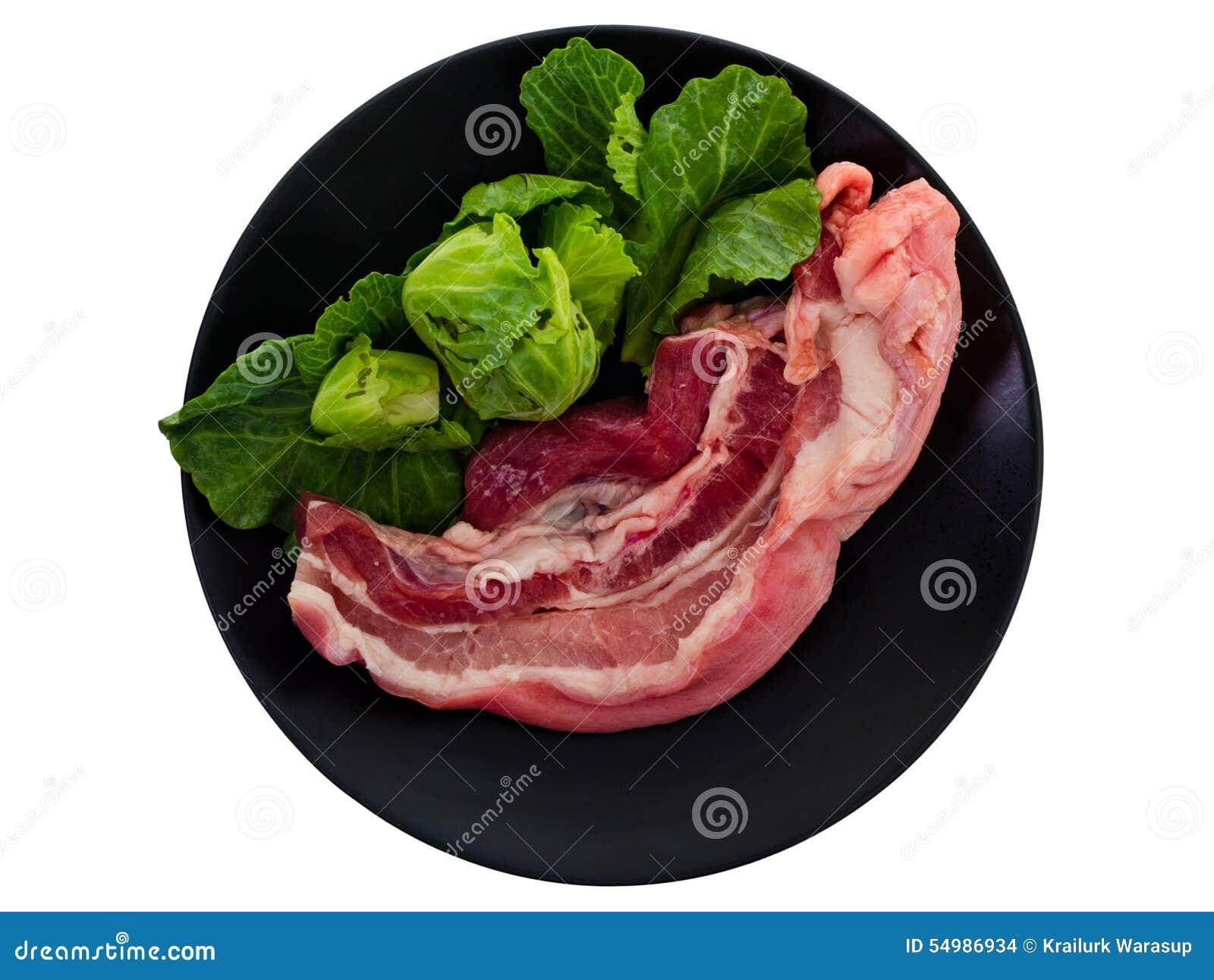 Streaky pork