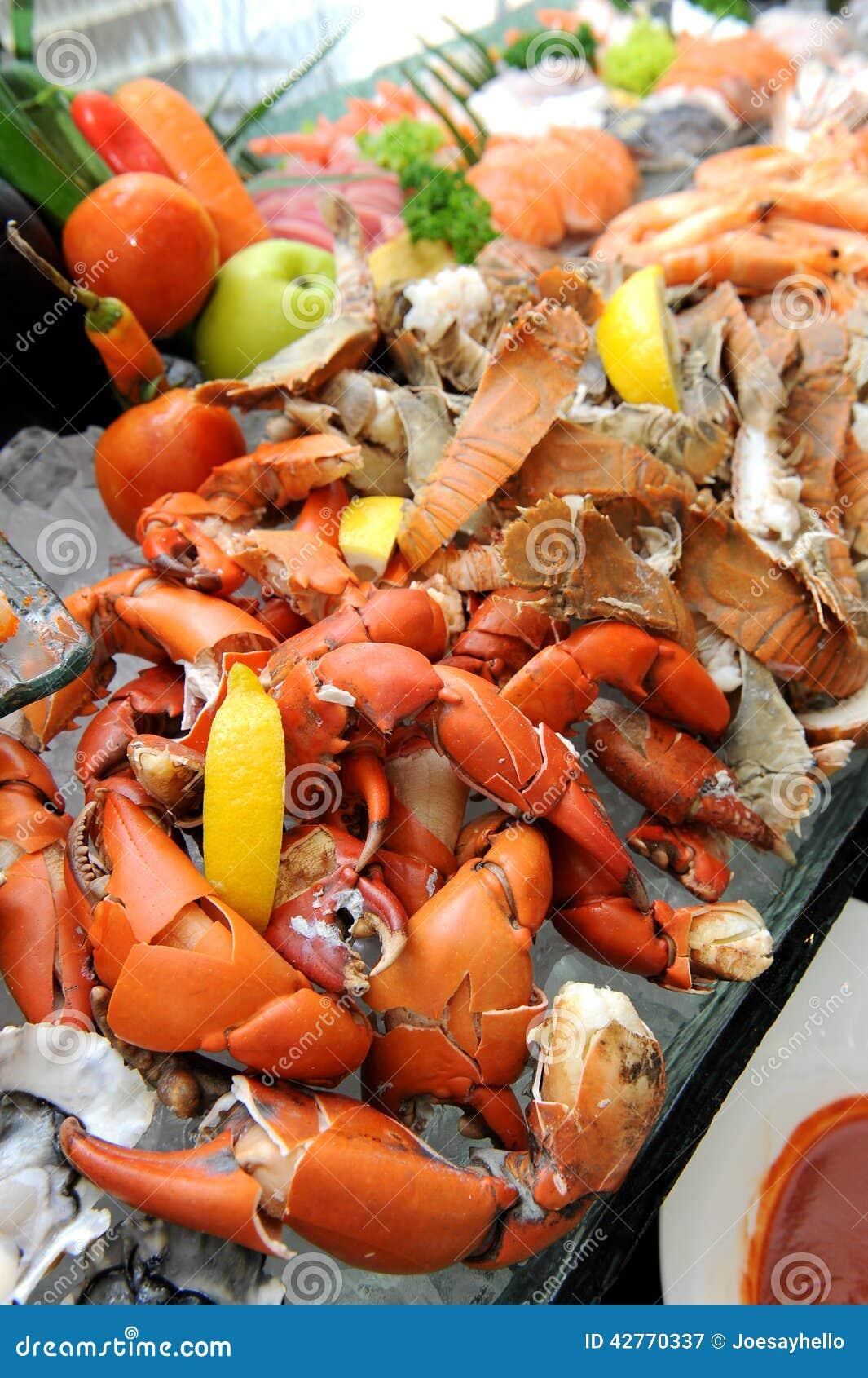 Stream Crab Legs Fresh Seafood Stock Image - Image of ...