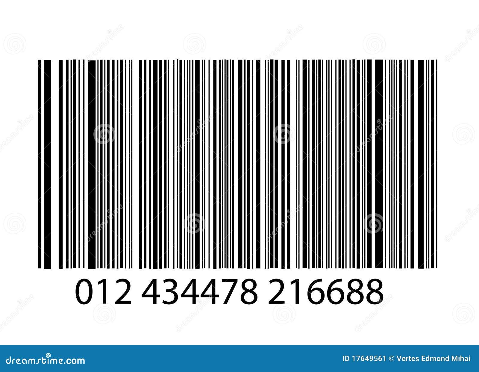 Fereditions31 Codigos De Barra Png: Streepjescode Op Wit Vector Illustratie. Illustratie