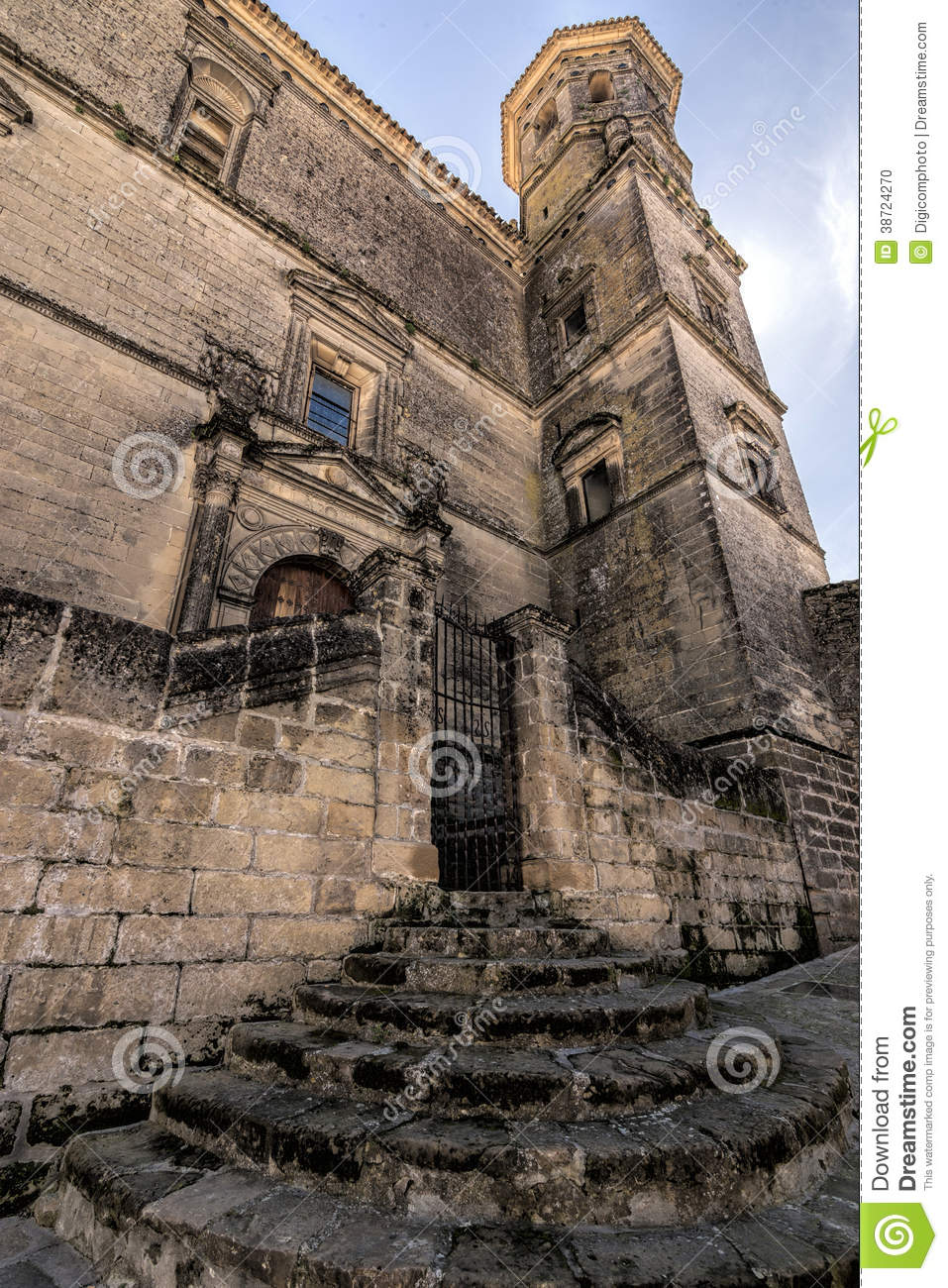 Baeza Spain  City new picture : Street Arco De Las Escuelas, Baeza, Spain Editorial Image Image ...