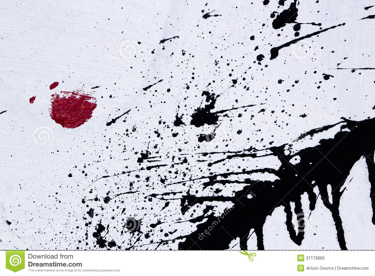 Street Wall Art Black And White : Street art stock photo image of concept painting