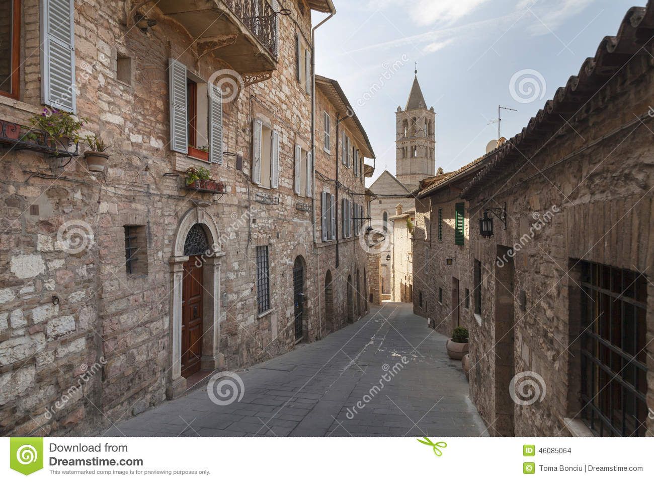 Street from Assisi