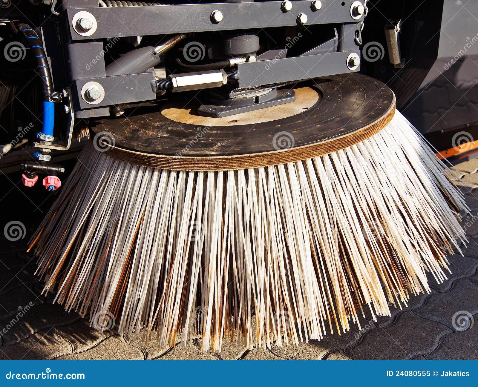 Street Brush Stock Image Image Of Equipment Communal