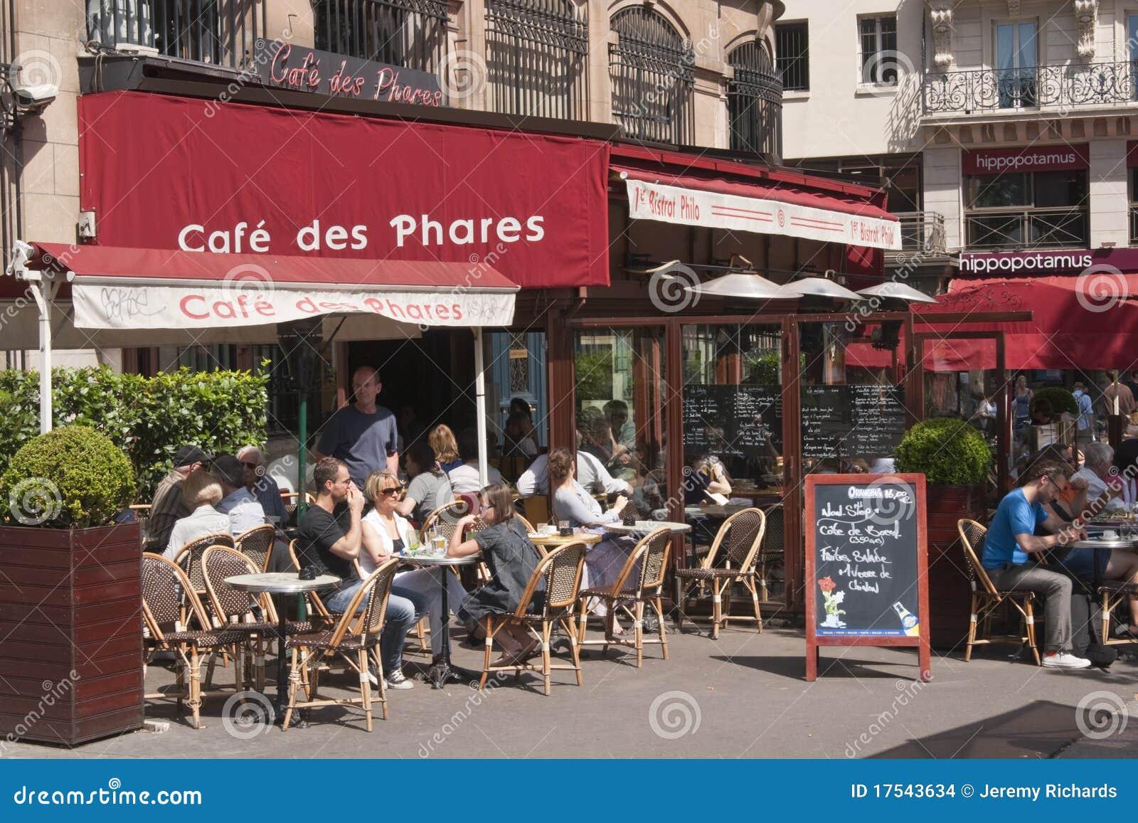 Street Cafe - Paris - France