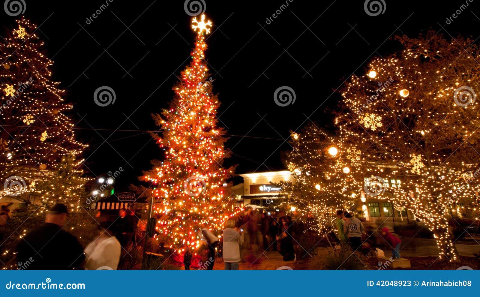 Street at Christmas