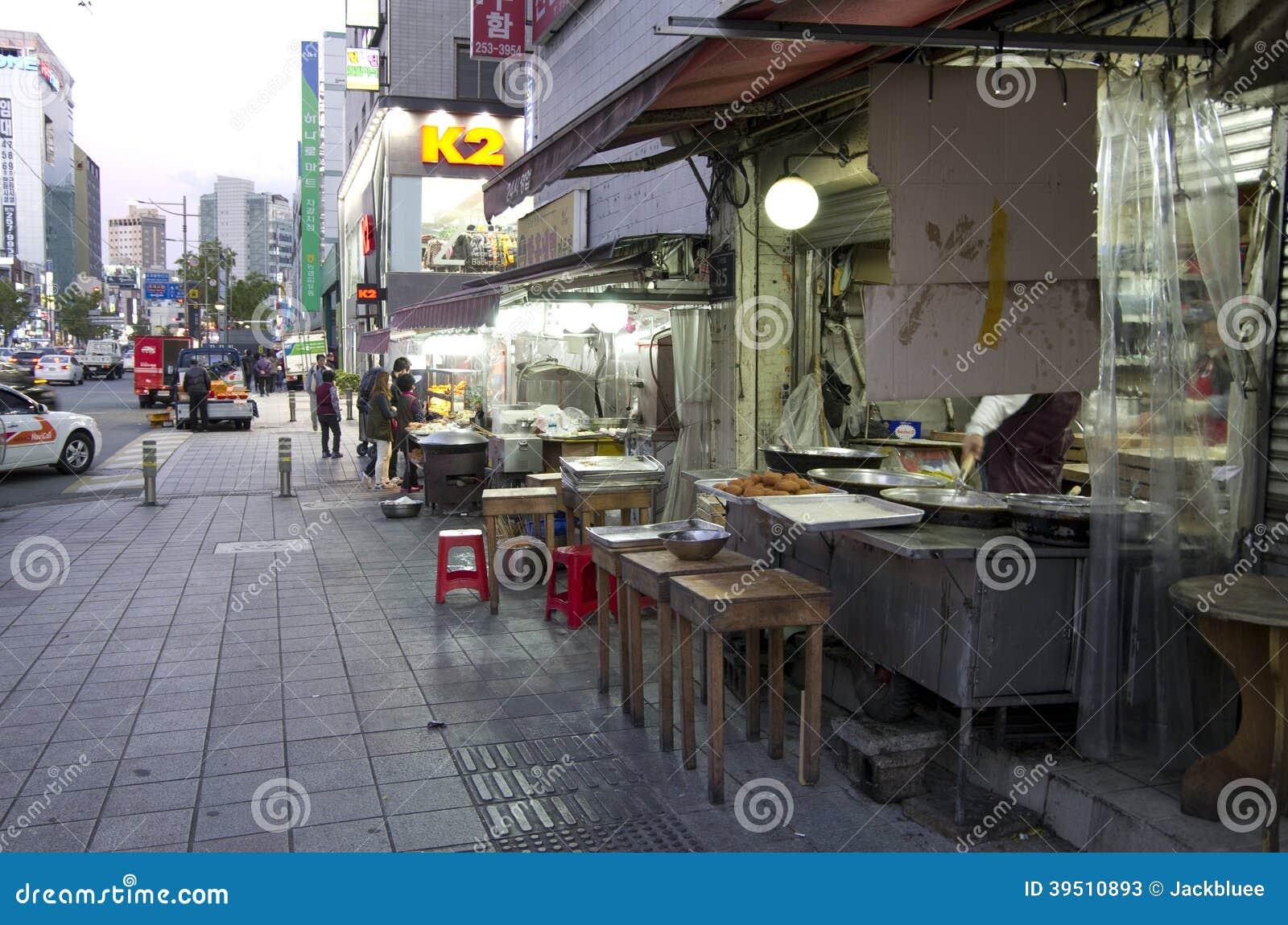 Street eats Busan
