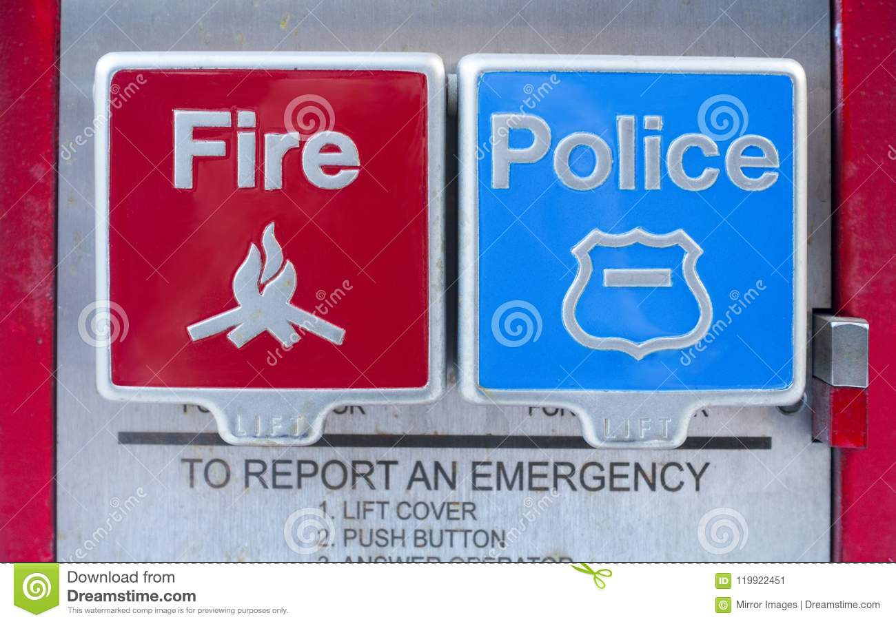 Street Fire and police levers