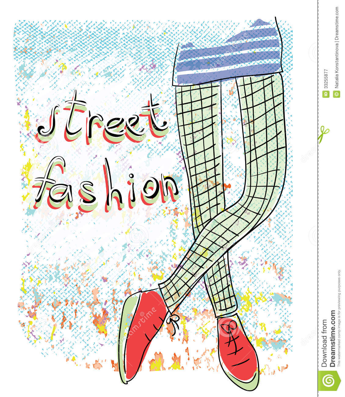 Street Fashion Royalty Free Stock Photography Image