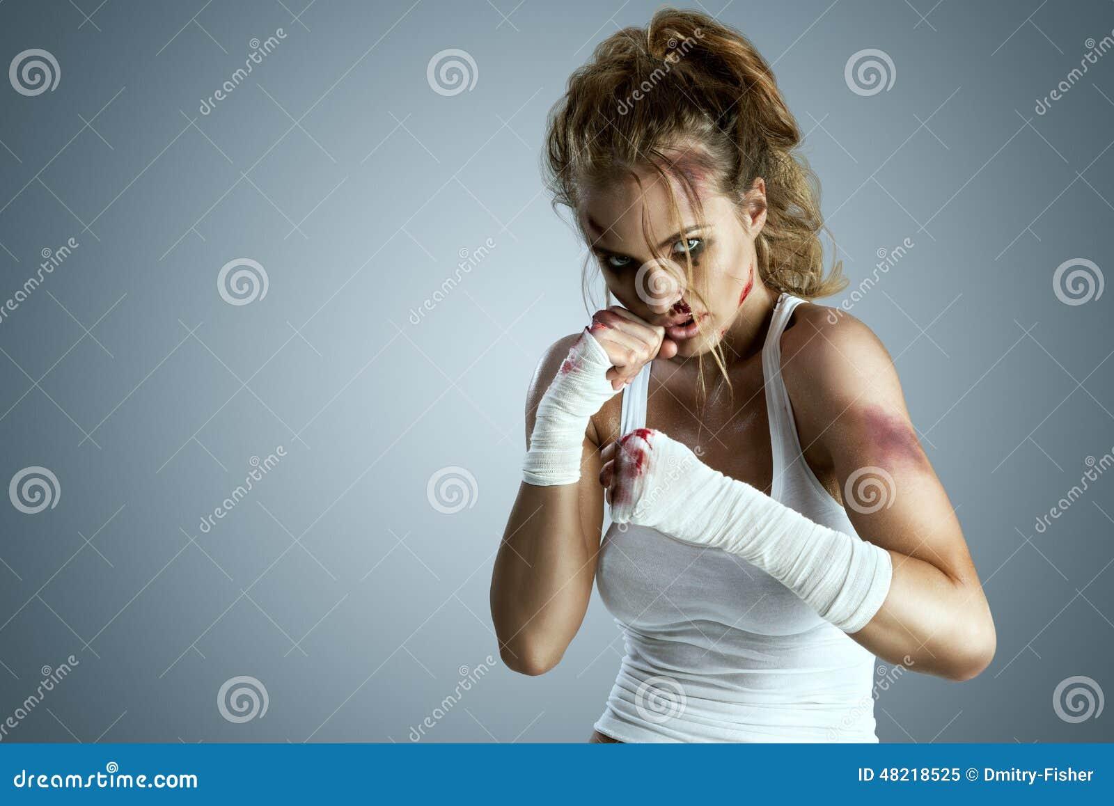 Female street fighting