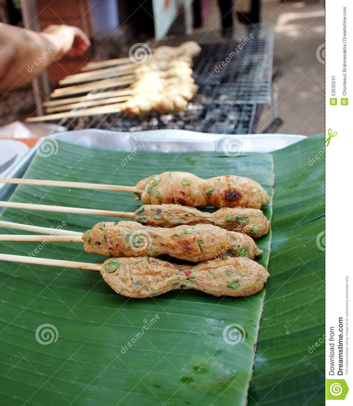 Street Food Stock Photo - Image: 53530241