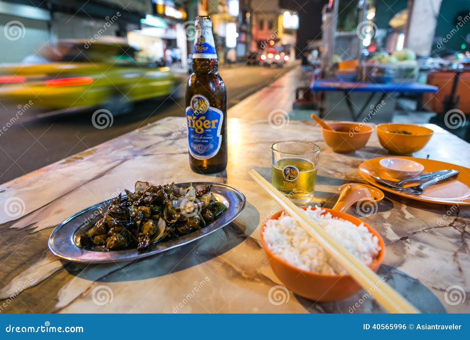 Street Food In Kuala Lumpur Chinatown Editorial Photo ...