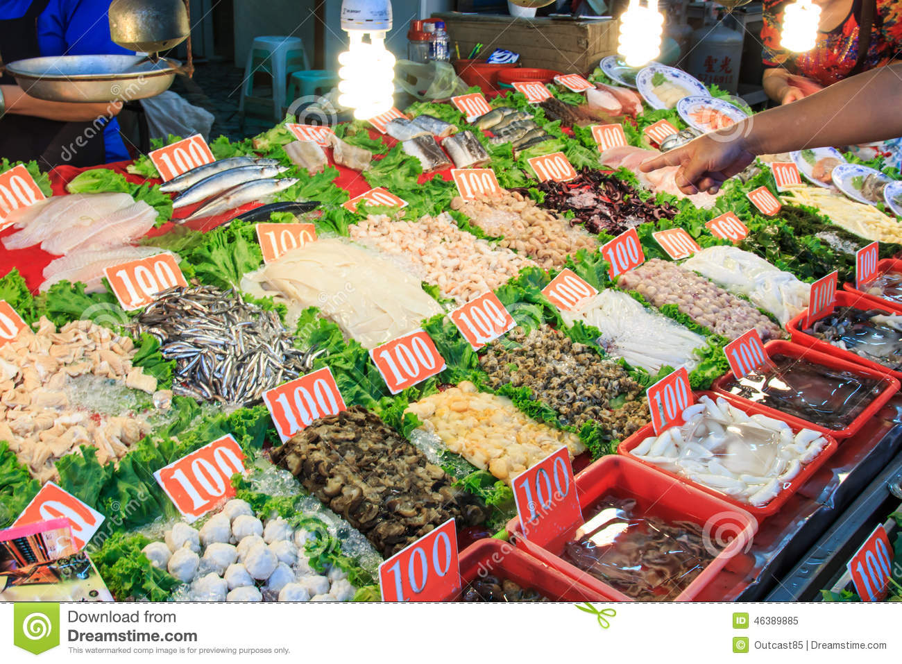 Seafood market business plan
