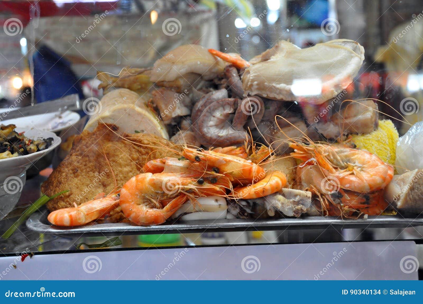 Saigon Street Food Stock Photo