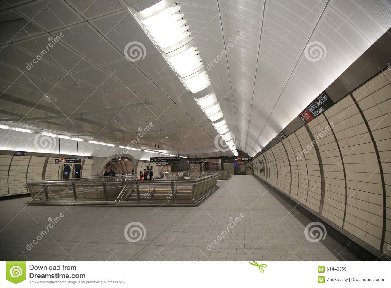 34 street hudson yards subway station interior design in for Nyc interior designers directory