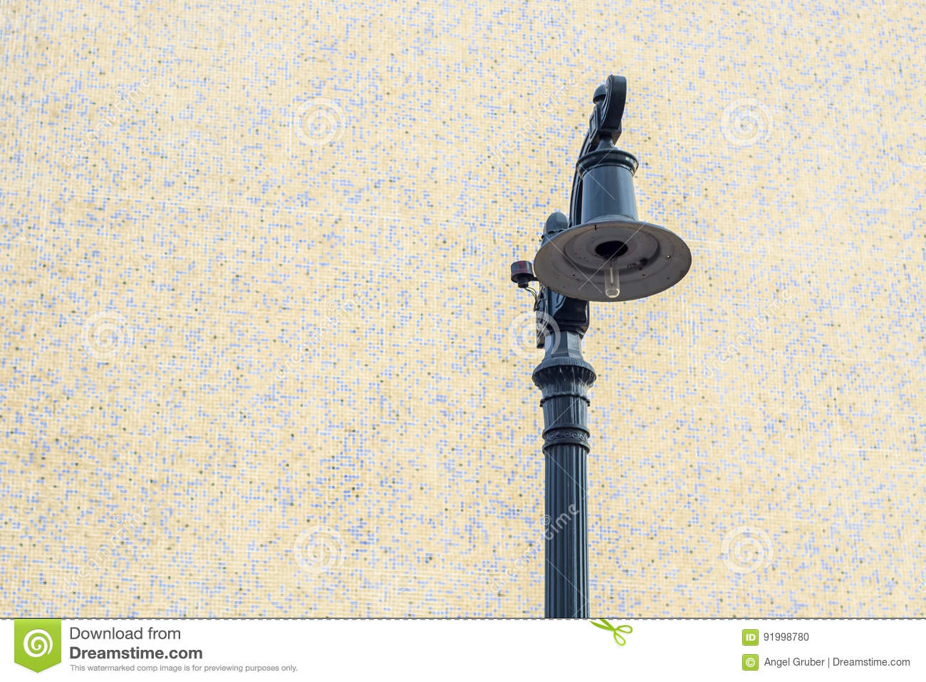 Street lamp in the city