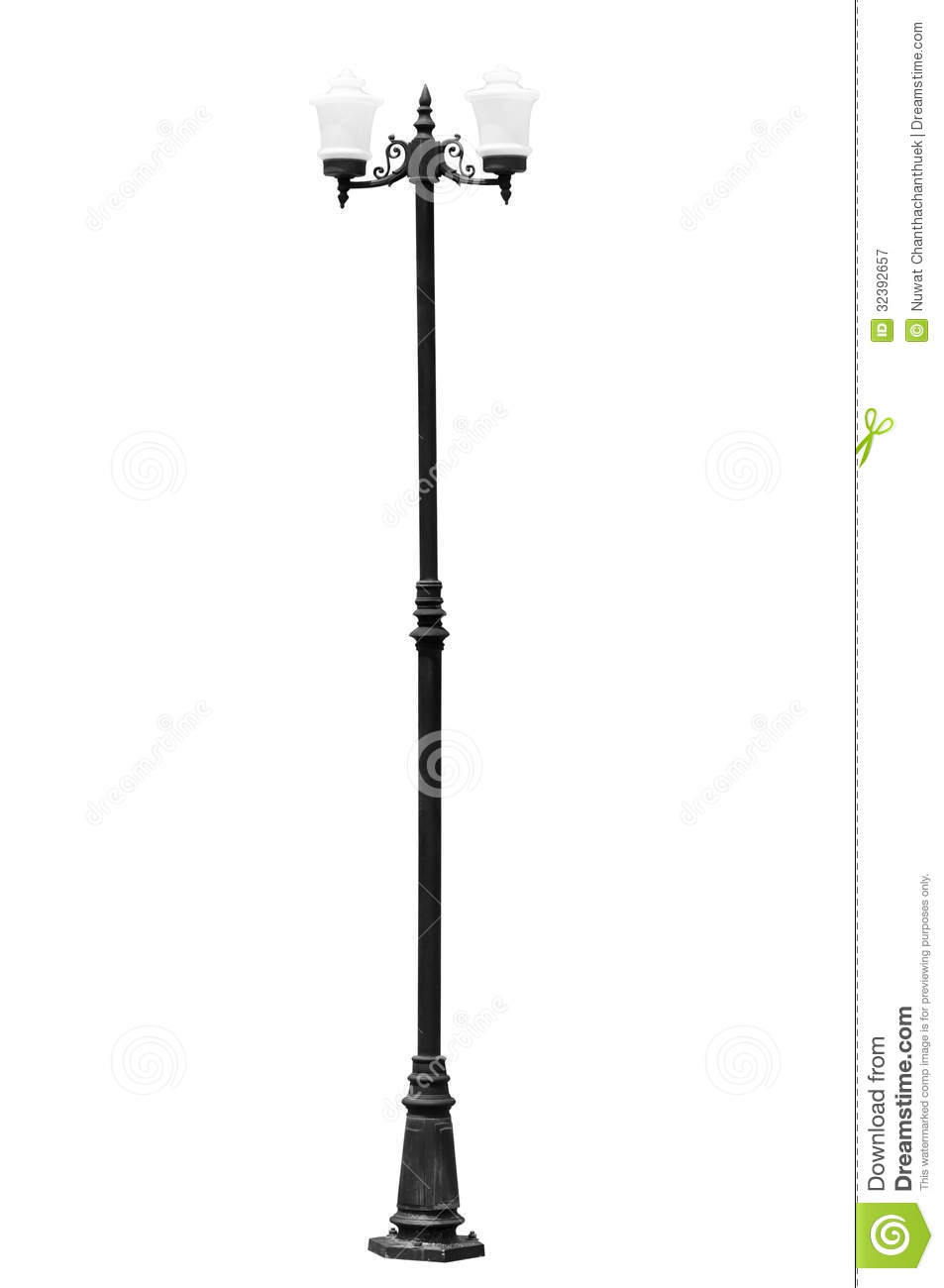 Street Light Pole Stock Image Image Of High Halogen
