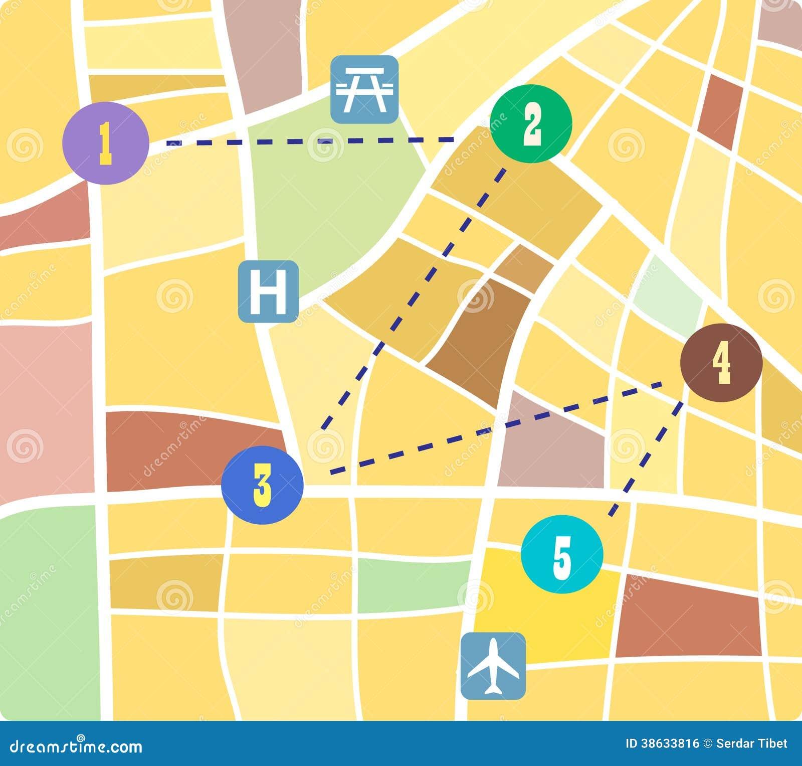Street map royalty free stock image image 38633816 for Map designer free