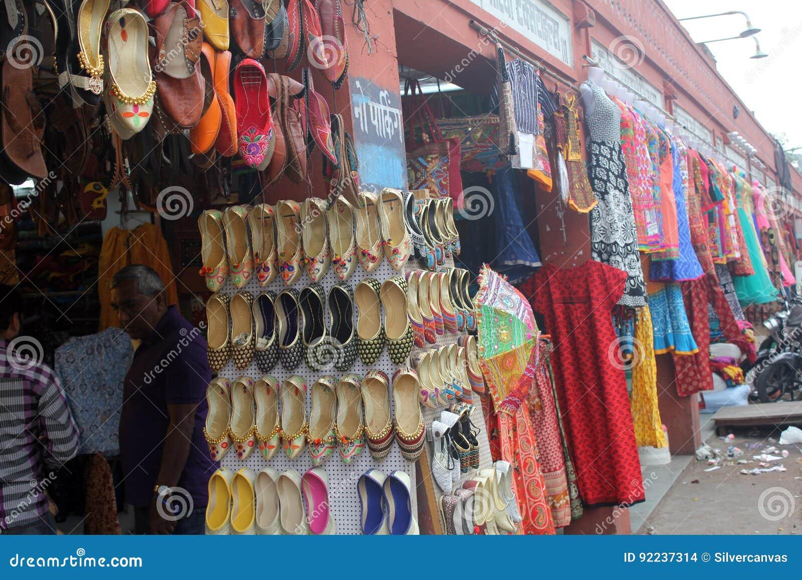 Street Market In Jaipur Rajasthan Editorial Stock Image