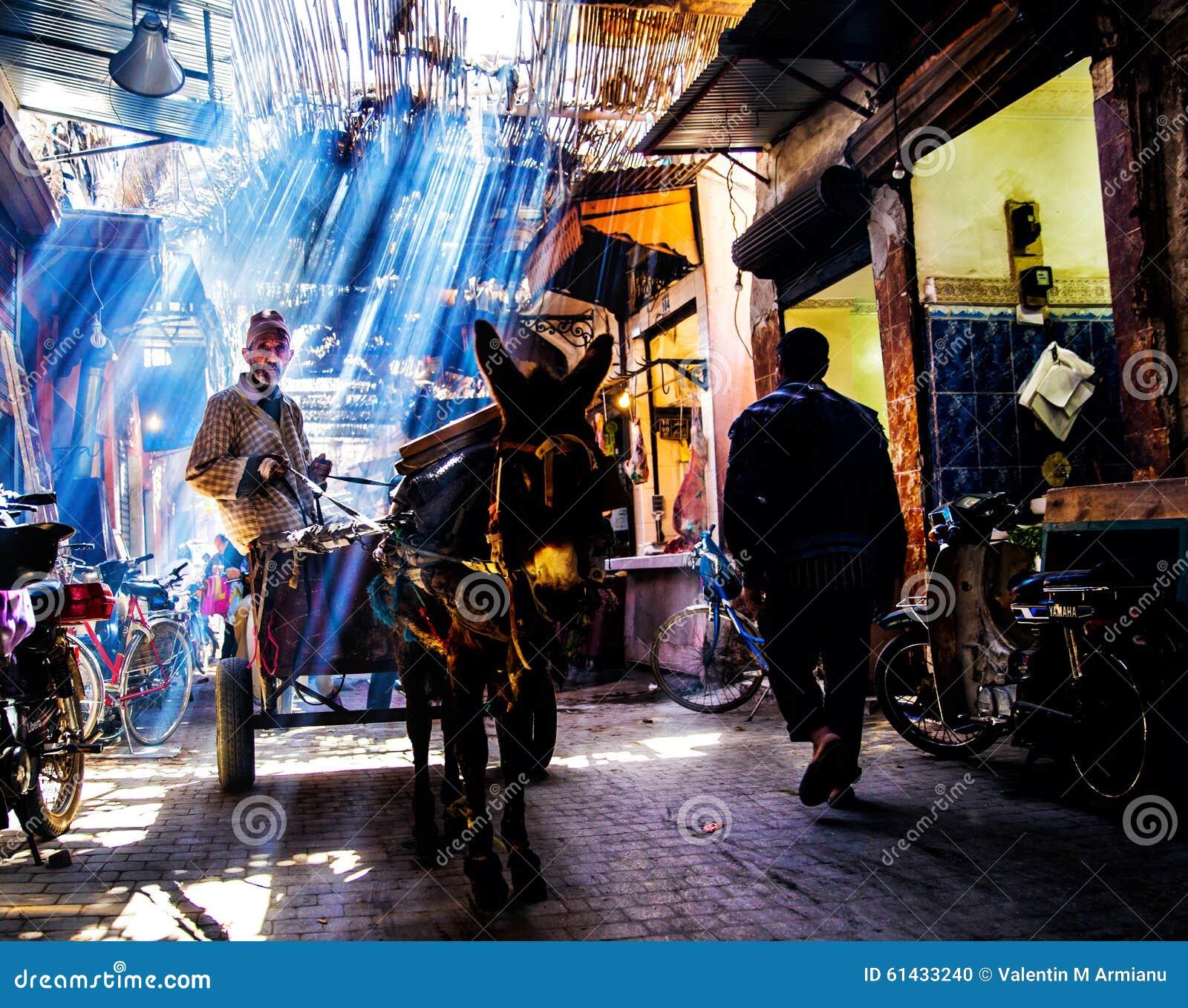 Street in Marrakech