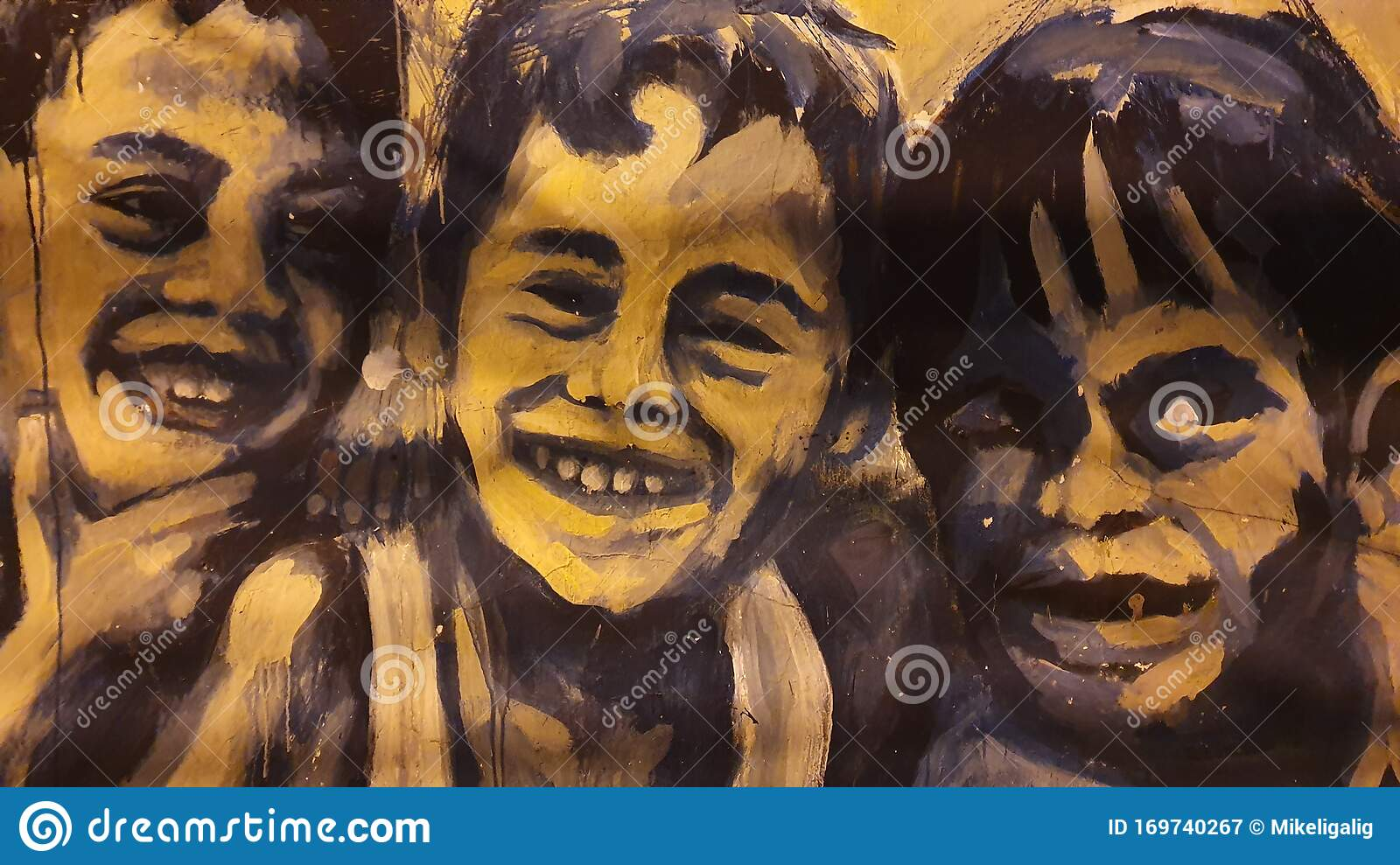 Street Painting On Public Wall In Davao City Philippines Editorial Photography Image Of Youth Artwork 169740267