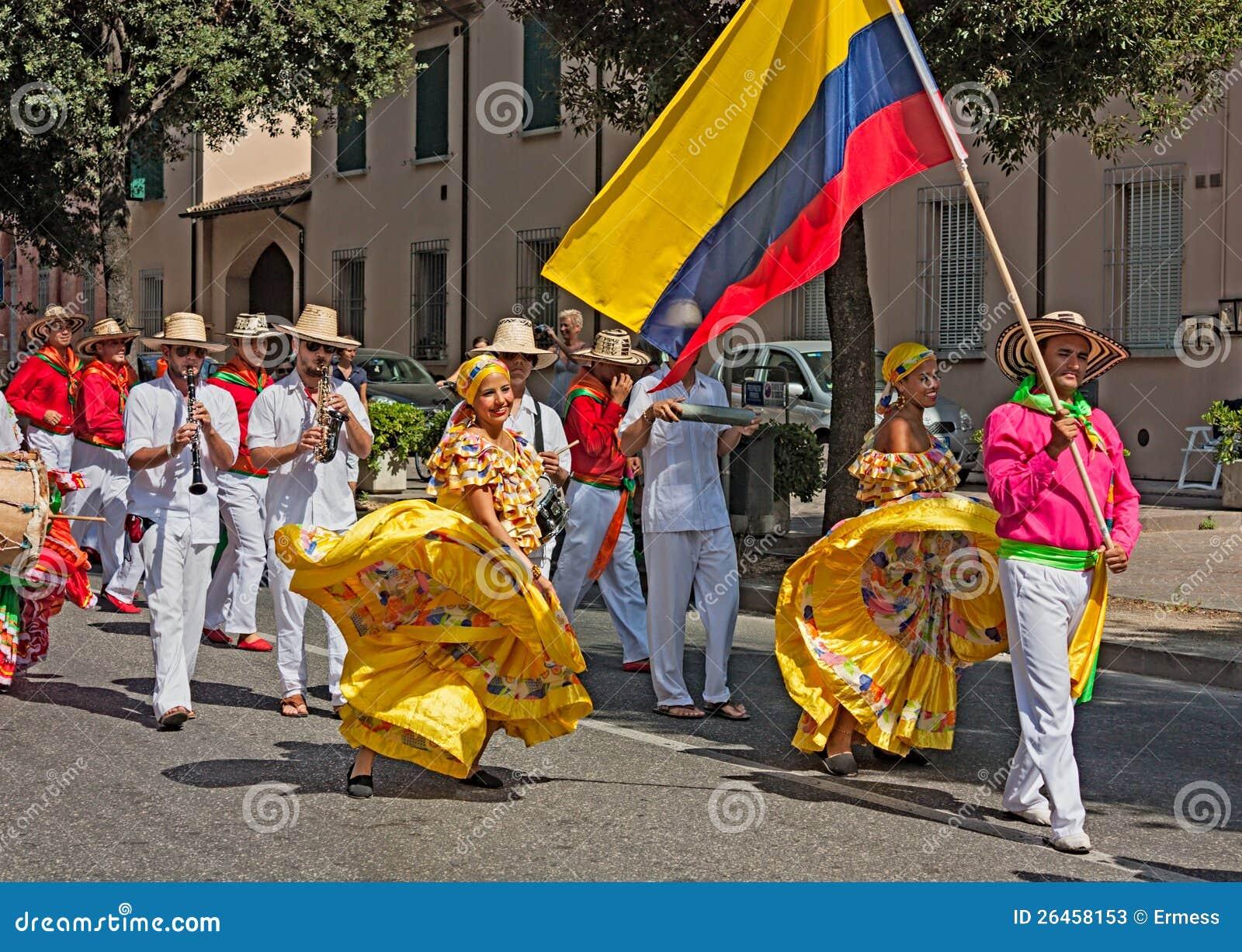 Colombian folkore dance