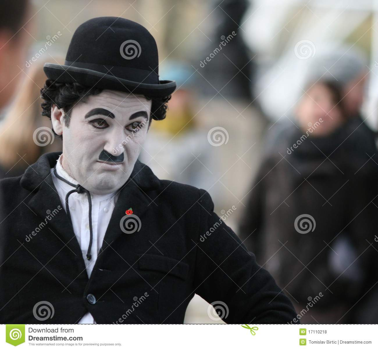 Street Performer Charlie Chaplin Editorial Stock Photo Image Of