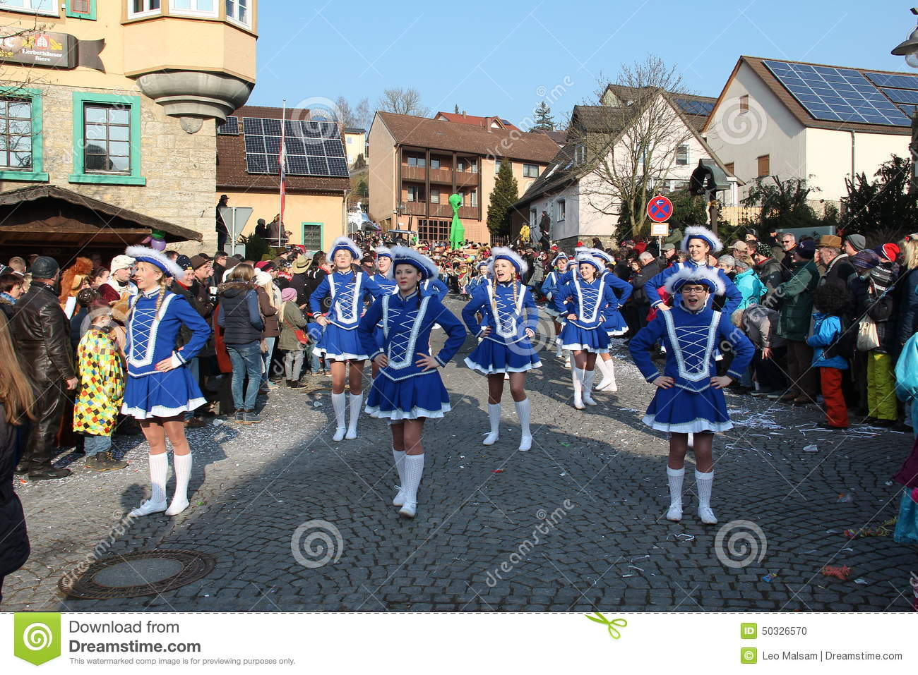 Fastnacht - an old tradition of winter wires in Germany