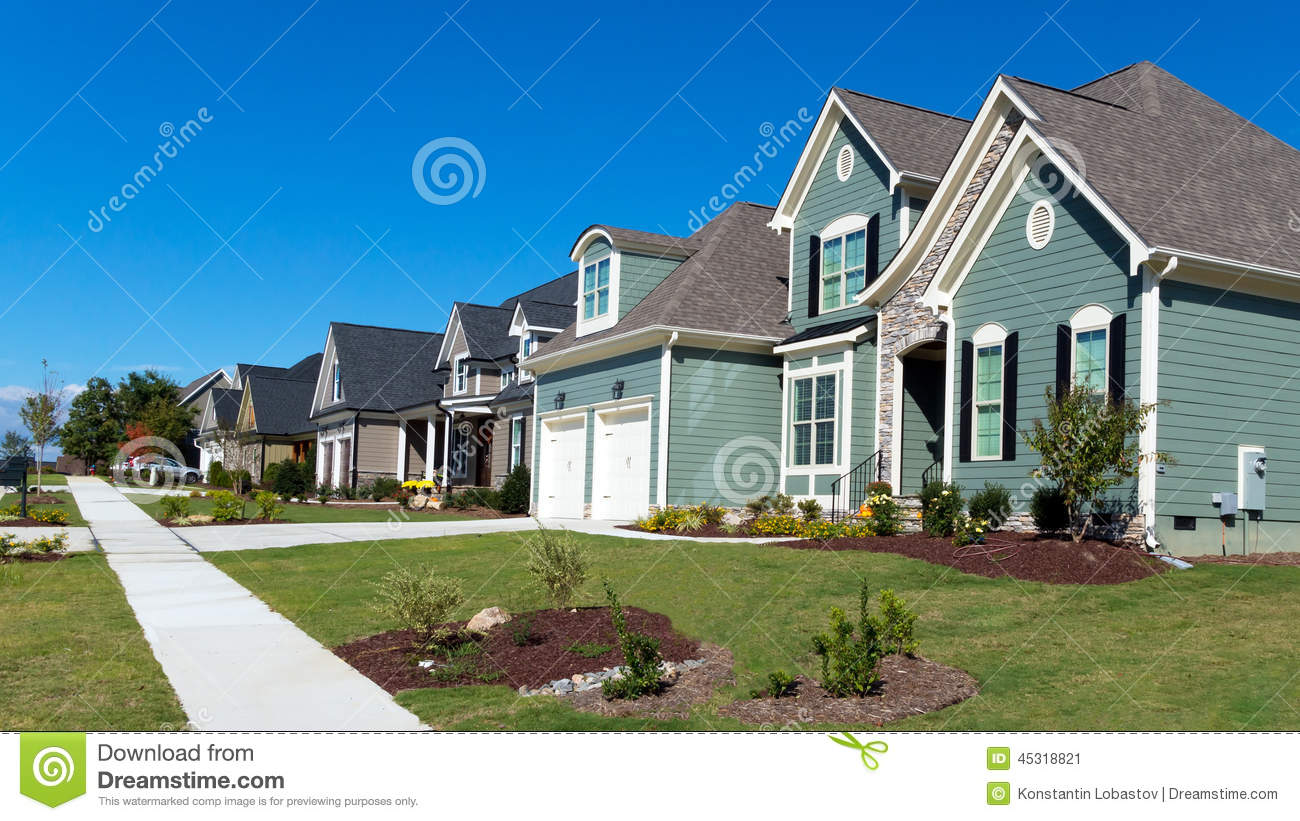 Residential stock photo 58159998 for Residential house pictures