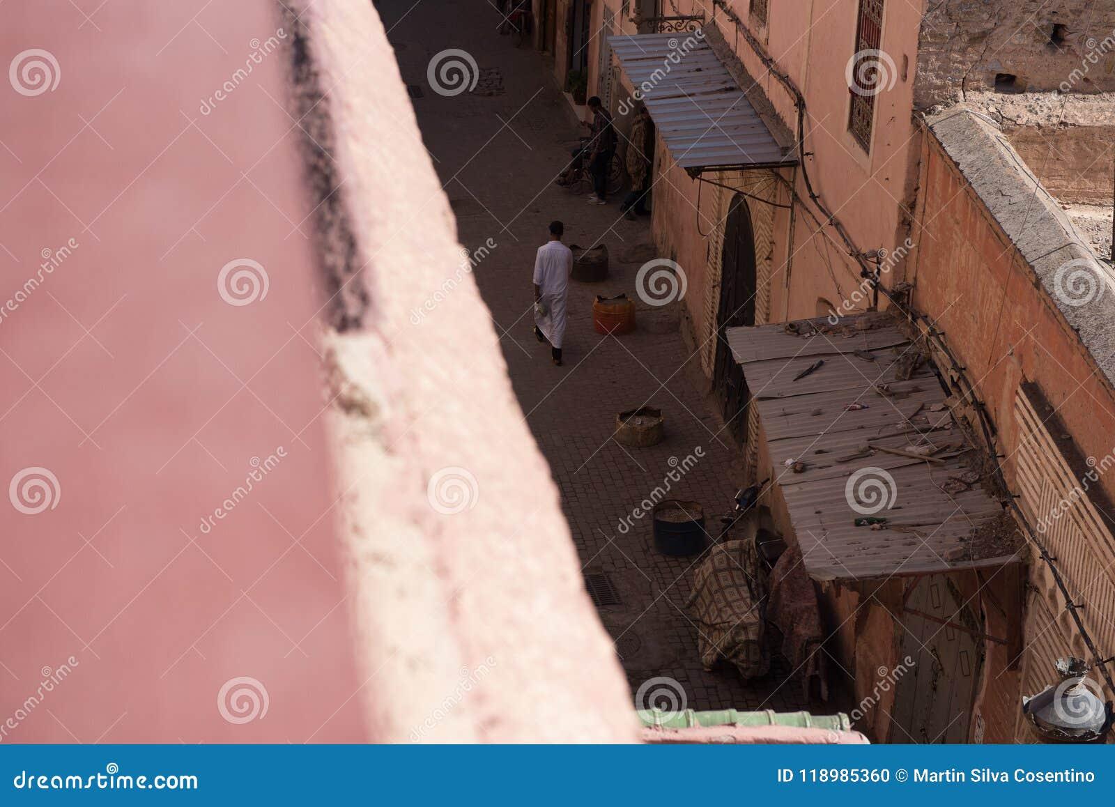 StreetÂs von Marrakesch, Marokko