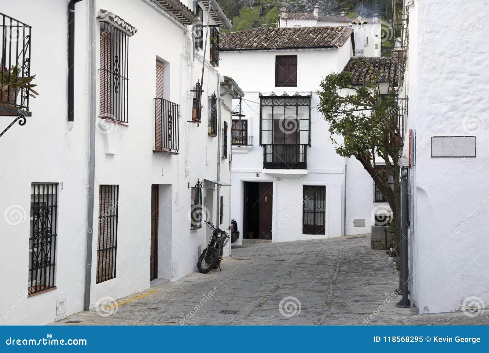 Street Scene; Grazalema